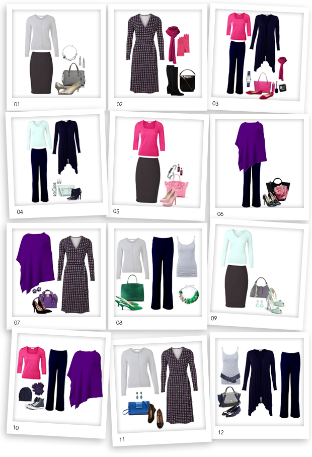 how to put together a canvas wardrobe