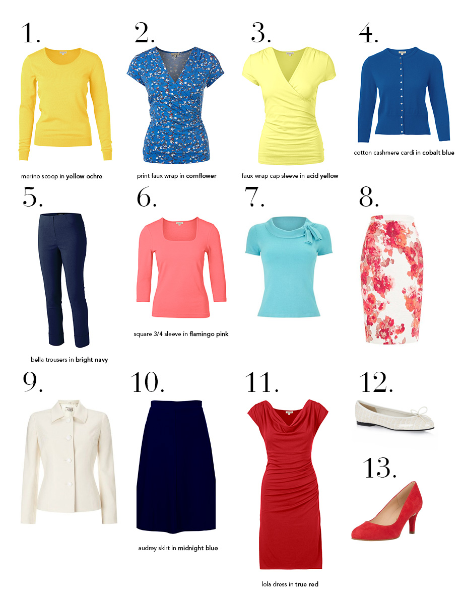 13 into 31: Your spring wardrobe, sorted